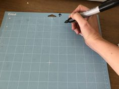 Cricut Hacks: Mark the Top of Your Mat to Avoid Errors