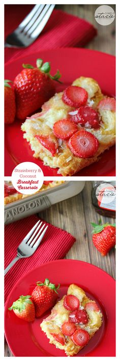Make the night before and in the morning, bake in the oven for a delicious breakfast!