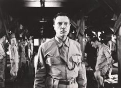 """Biloxi Blues"" movie still, 1988.  Christopher Walken as Sgt. Merwin J. Toomey."