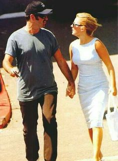 George with Geri Halliwell