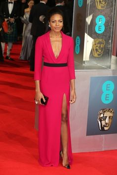 Naomie Harris | All The Fashion At The 2014 BAFTAs