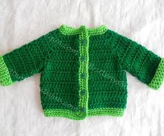 Beautiful Two Tone Baby Sweater