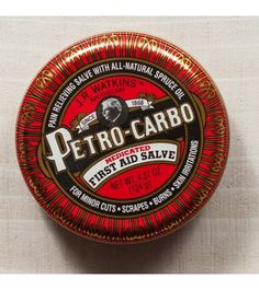 J.R. Watkins Petro Carbo First Aid Salve - makes a great stocking stuffer!!