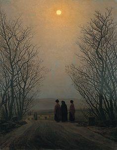 Friedrich, Caspar David. Mañana de Pascua. Romanticism.