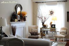 beautifully curated living room for a small, historic space ( or any size!)
