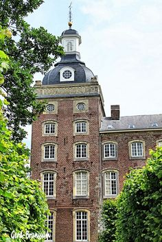 Castle of Amstenrade in Schinnen, #Netherlands    Photo by Gerd-Brunssum, via Flickr    I lived a couple blocks from here :)