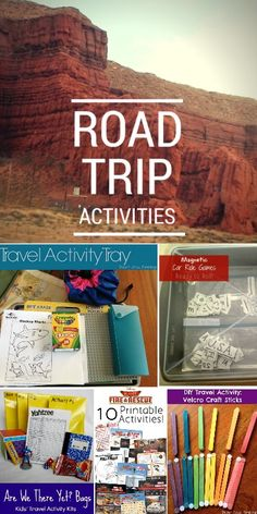 Road Trip Activities for Kids - My Crazy Good Life
