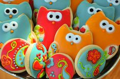 Owl Cookies :D