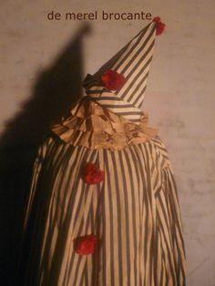 antique clown costume