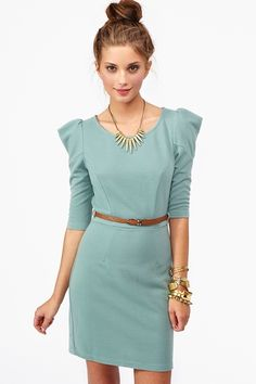 Ivy Belted Dress...something simple but a little bit different.