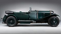 1929 Bentley Speed Six Le Mans tourer - this is the car I imagined Mr Toad tearing up the countryside in.