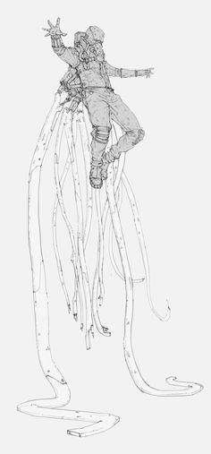 Test subject, Arsen Asyrankulov on ArtStation at https://www.artstation.com/artwork/RzKzr