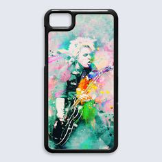 Green day Billie Joe Armstrong Abstract BlackBerry Z10 case cover, US $16.89