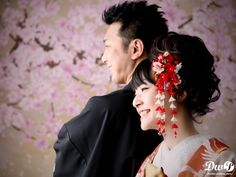 和装スタジオ写真 結婚写真 和装前撮り 東京 フォトウエディング専門フォトスタジオのスタジオAQUA