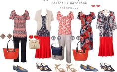 Dresses for Apple Shaped Women | Learn the basics of creating a capsule wardrobe...your 'go-to' outfits ...