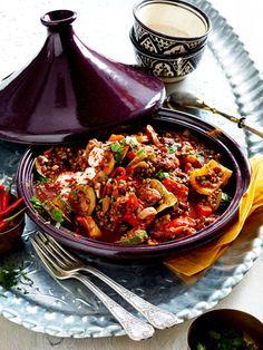 Das köstliche Schmorgericht aus Marokko gelingt übrigens auch ohne Tajine!