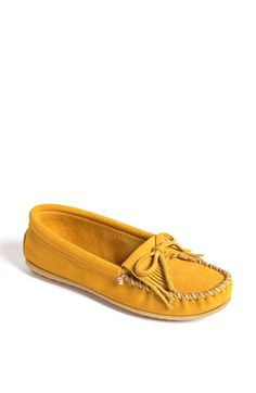 Just ordered these yellow Minnetonka Moccasins for the summer! I already have a beaded brown pair and they are the most comfy!!