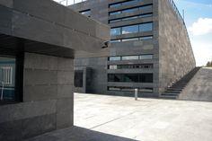 Système CUPA de façade agrafée en pierre naturelle | #CUPA #pierrenaturelle #facade #ventilee #architecture #design #batiment