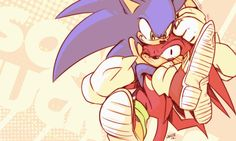 Share your buddy love with energy Sonic: Oh yeah you like it! Knuckles: D: Sonic & Knuckles (c)SEGA/Sonicteam D: Love ya bud Sonic The Hedgehog, Shadow The Hedgehog, Sonic And Amy, Sonic And Shadow, The Blue Boy, Sonic & Knuckles, Sonic Adventure 2, Really Cool Drawings, Sonic Unleashed