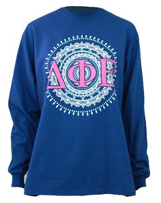 Delta Phi Epsilon Initiation Long Sleeve by Adam Block Design | Custom Greek Apparel & Sorority Clothes | www.adamblockdesign.com