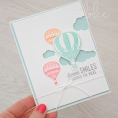 lift me up, hot air balloons, stamp club, emboss resist, classes