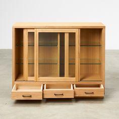 照明付き水屋箪笥 引き戸式扉サイドボード 幅119.5cm 通販 - ディノス