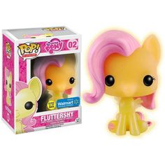 My Little Pony Funko Pop Vinyl Figure Fluttershy (Glow in The Dark Exclusive) Fluttershy, Mlp, Pop Vinyl Figures, Vinyl Toys, Funko Pop Vinyl, My Little Pony Dolls, Funko Pop Dolls, My Little Pony Pictures, Pop Collection