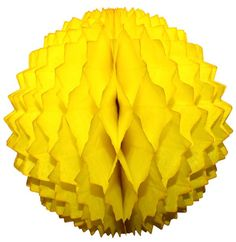 Small 7 Inch Honeycomb Spike Ball Decoration (3-pack) - Solid Colors – Devra Party Art Yellow Party Decorations, Ball Decorations, Tissue Paper, Honeycomb, Decorating Tips, Birthday Parties, Solid Colors, Usa, Anniversary Parties