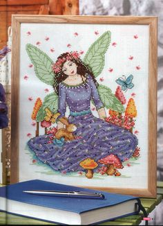 Spring Fairy - 1/3 PUNTADITAS (pág. 92)   Aprender manualidades es facilisimo.com