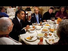 Raw Footage: President Obama's Surprise Lunch Stop - YouTube