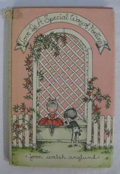 $15.99-Vintage Love is a Special Way of Feeling Joan Walsh Anglund 1960 SWEET!