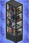 click to view collection of bookcases for free download