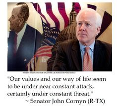 Senator John Cornyn on American Values