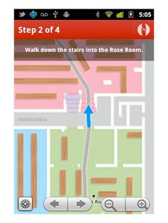 Meridian indoor navigation app