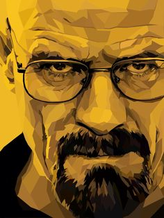 Walter White iPad Drawing by Me