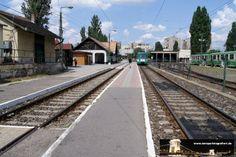 Budapest Csepel 07.07.2013 - die Endhaltestelle der HÈV
