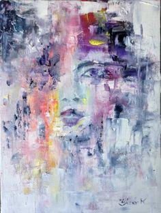Original Portrait Painting by Konrad Biro Biro Art, Original Art, Original Paintings, Art Prints Online, Sketch Painting, Painting Inspiration, Sculpture Art, Cool Art, Saatchi Art