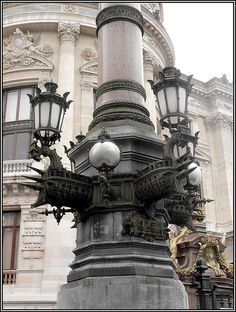Street Lamp at Palais Garnier, Paris