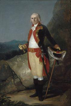 El general don José de Urrutia Francisco de Goya, circa 1798, Museo del Prado, Madrid)