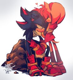Shadow The Hedgehog, Sonic The Hedgehog, Shadow And Amy, Shadow Pictures, Sonic Fan Art, Amy Rose, Coraline, Fun Games, Cartoon