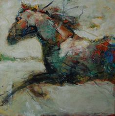 No Looking Back by Susan Easton Burns | dk Gallery | Marietta, GA | SOLD
