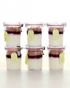 Cheesecakes // Mini Cheesecake Jars Recipe