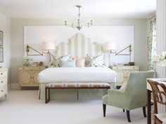Headboards: 36 Fresh Ideas | Home Remodeling - Ideas for Basements, Home Theaters & More | HGTV