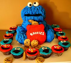 Cookie monster and friends | Yahairam | Flickr