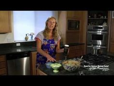 Gluten-Free Quinoa Shrimp Salad Cooking Demo | GlutenFreedomProject.com