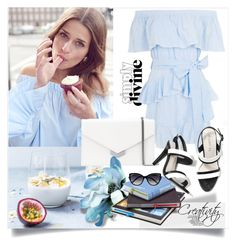 """True colors"" by creativity30 ❤ liked on Polyvore featuring Topshop, Jimmy Choo and La Perla"