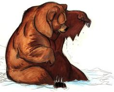 Lovely Brother Bear concept art