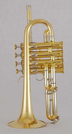 D-Hoch - G - Trompete, 4 ventilig