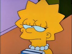 Relatable Pictures of Lisa Simpson Cartoon Icons, Cartoon Memes, Cartoons, Lisa Simpson Tumblr, Los Simsons, Simpson Wallpaper Iphone, Cinema Tv, Cartoon Profile Pictures, My Spirit Animal