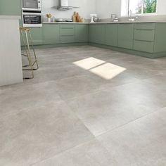 carrelage_sol_et_mur_blanc_effet_pierre_atmosphere_l_60_x_l_120_cm Decor, House, Tile Floor, Deco, New Homes, Home Decor, Kitchen